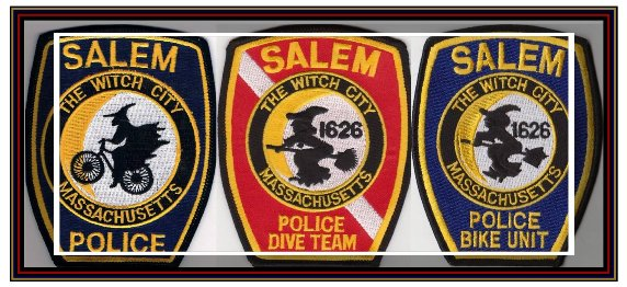 Trio of Police Badges