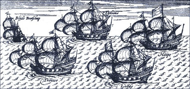 Fleet of Dutch Ships