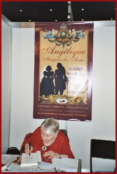 Anne under poster for books