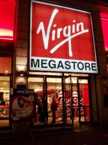 The Virgin Store Front