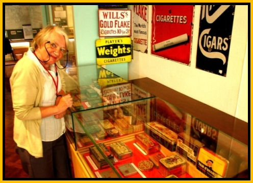 Bexhill Observer showing Black Cat Memorabilia