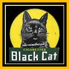 Black Cat Cigarette Packet