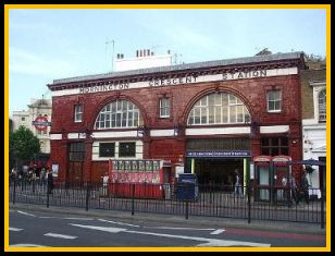 Mornington Crescent Underground Station