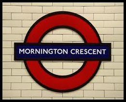 Mornington Crescent Tube Sign