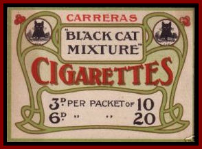 Iconic Black Cat Mixture Logo