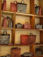 Bags Displayed at Coccinelle Shop