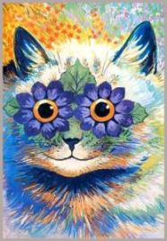 Louis Wain_Flower Cat