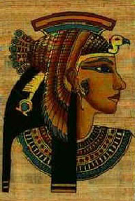 Portrait of Cleopatra