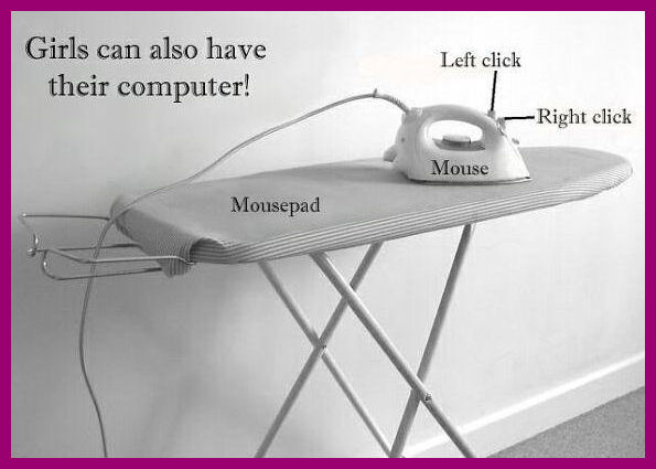 Image of an ironing board