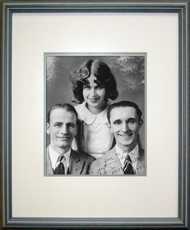 Portrait of Wilson Kepple and Betty