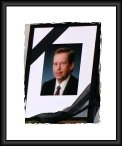 Havel Funeral Portrait