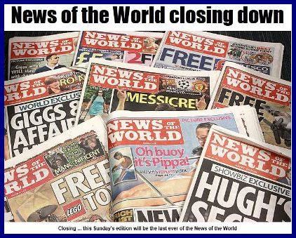 News of the World Last Day