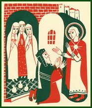 St Nicholas Offering Dowry