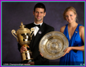 Novak and Kveta Wimbledon Champions