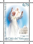 John Paul II Commemorative Stamp