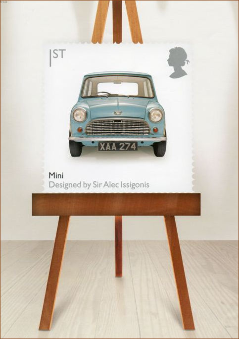 British Achievements Mini  on an Easel Poster