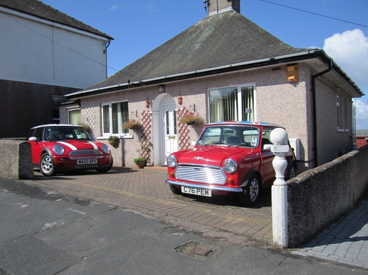 Another A Classic and BMW Mini in harmony