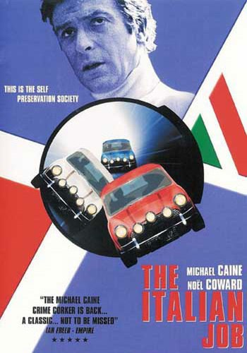 Italian Job - 1969 DVD Cover