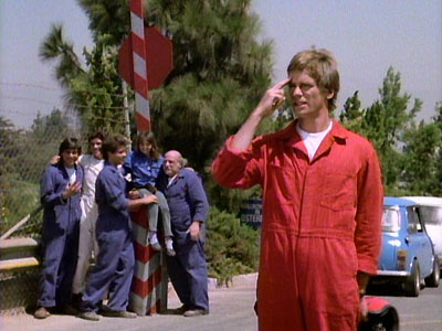 MacGuyver episode featuring Italian Job footage