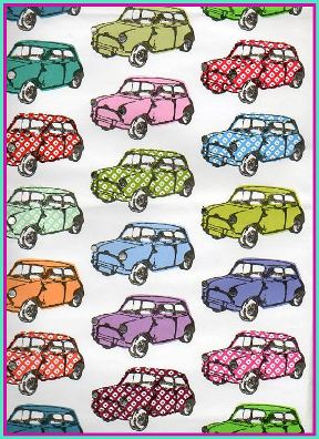 Funky Mini Design Wrapping Paper