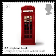 Telephone Kiosk Stamp
