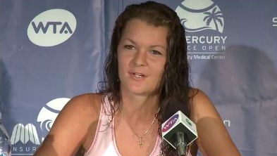 Screen shot of Aga post-match