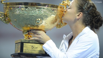 Agnieszka Champion of China