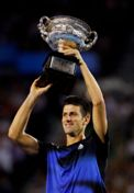 Novak Djokovic Australian Open Champion 2011
