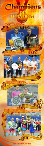 2011 China Open Poster