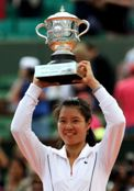 Li Na French Open Champion