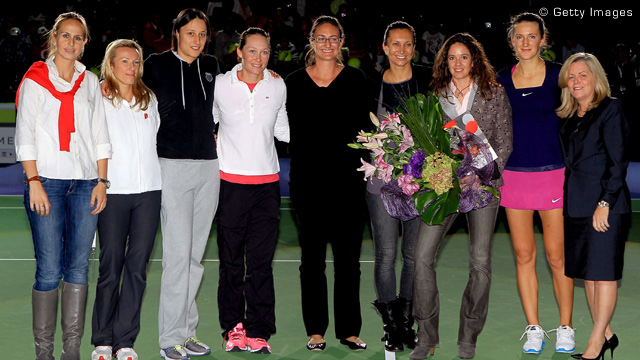 Patty Schnyder retires 2011