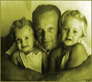 Barbara with her father and sister