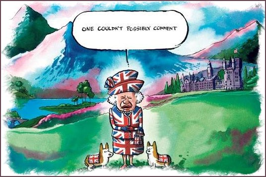 Cartoon Scottish Vote