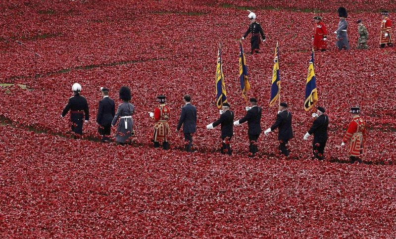 Leaving the poppy field