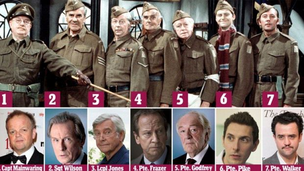 The new Dad's Army Cast