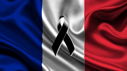 French Mourning Flag