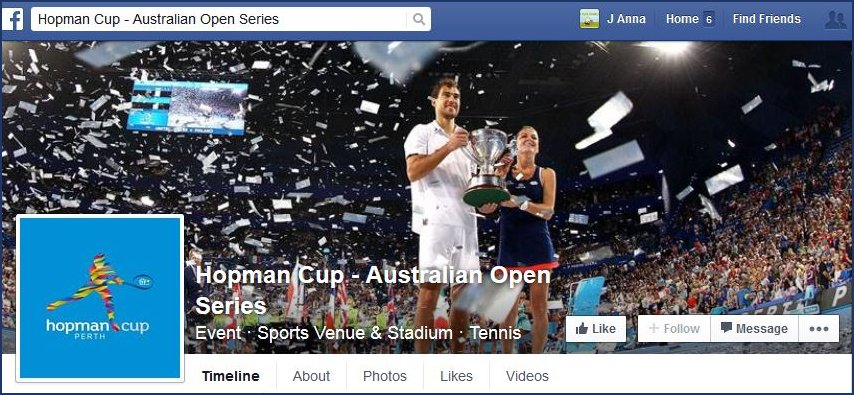Hopman Cup Fb page