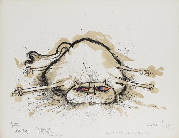 Ronald Searle - Cat of a Thousand Disguises