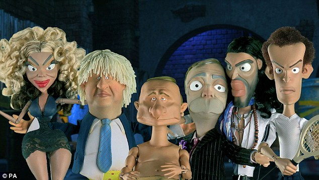 New Spitting Image Team including Andy Murray