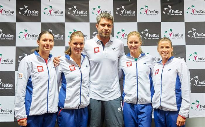 Polish Fed Cup Team