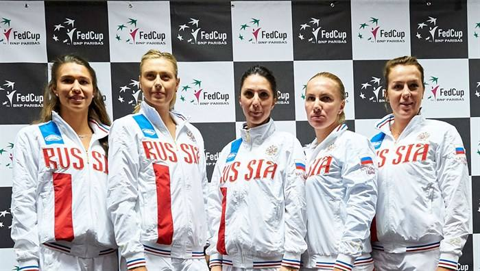 Russian Fed Cup Team