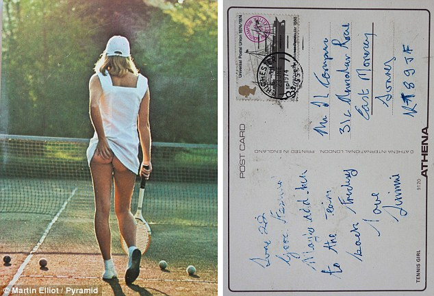 постер теннисистка уолкер делает для противодействия