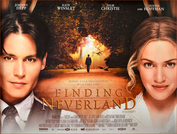 Finding Neverland Film Poster 2004