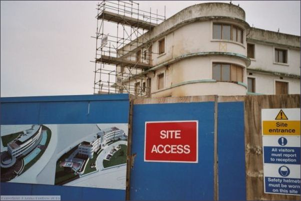 Midland Hotel - start of renovation