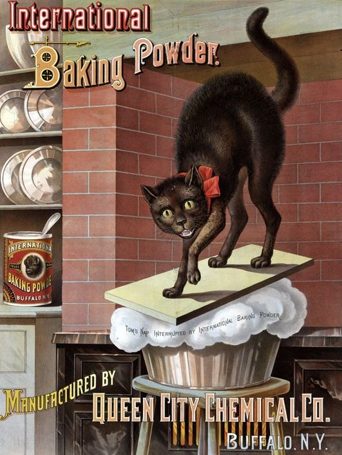 Queen City Chemical Co Baking Powder