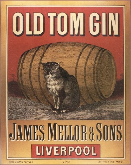 Old Tom Gin Ad