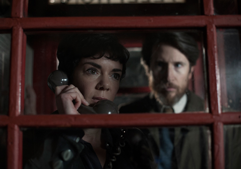 The spies in the Kiosk in 'The Game'