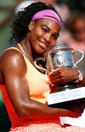 Serena Williams French Open Champion 2015