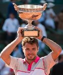 Stan Wawrinka French Open Champion 2015