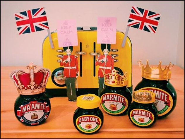 Baby Cambridge Marmite Family